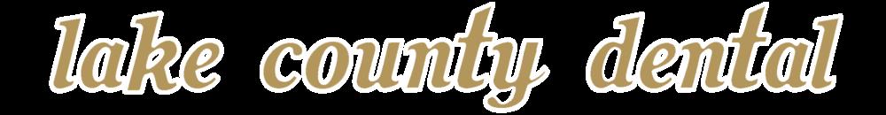 Lake County Dental Logo